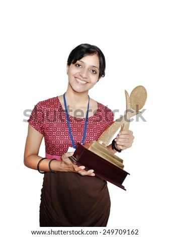 Employee of the Month. - stock photo