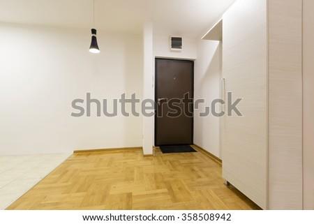 Empty apartment interior - stock photo