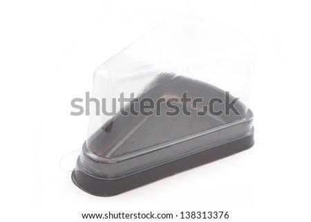 Empty bakery plastic package - stock photo