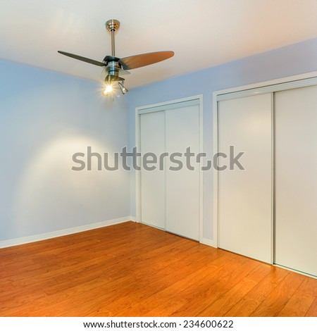 Empty Bedroom in a New Apartment  - stock photo