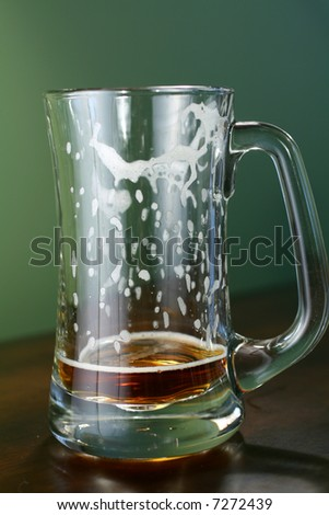 Empty Beer - stock photo