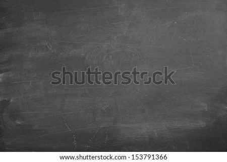 Empty black chalk board surface - stock photo