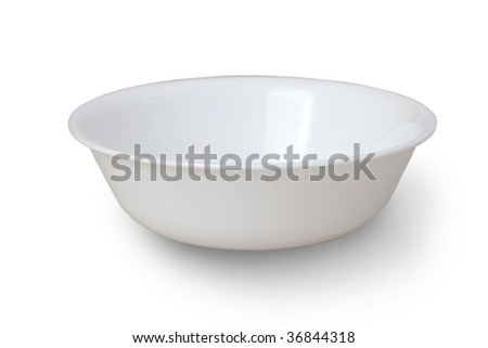empty bowl - stock photo