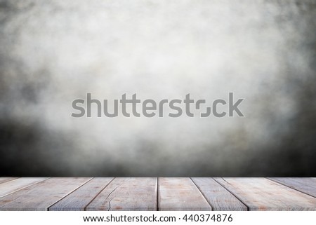 Empty brown wooden table and blur background of abstract blurred background ,for product display montage,can be used for montage or display your products