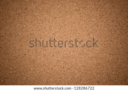Empty bulletin board, cork board texture - stock photo