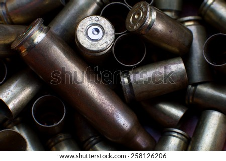 Empty Bullets - stock photo
