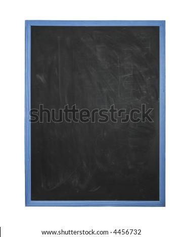 empty chalk board - stock photo