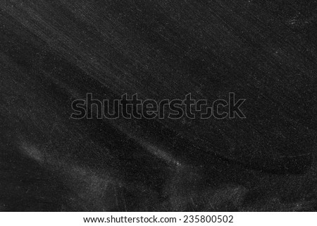 Empty Chalk Board Background Texture/Blank Blackboard Background Texture  - stock photo