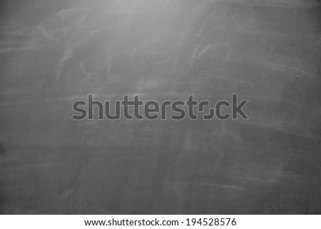 empty chalkboard background / chalkboard - stock photo