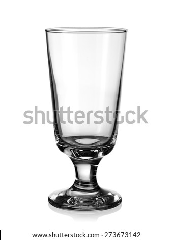 Empty cocktail glass - stock photo