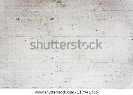 Empty concrete wall, may be used as texture or background - stock photo