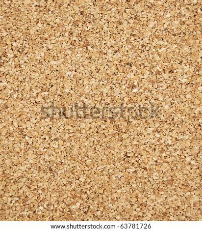 Empty cork board - stock photo