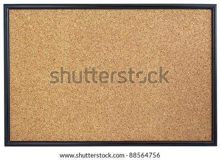 Empty cork board. - stock photo