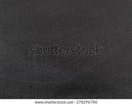 Empty dirty blackboard pattern background with chalk - stock photo