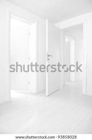 Empty home interior - stock photo