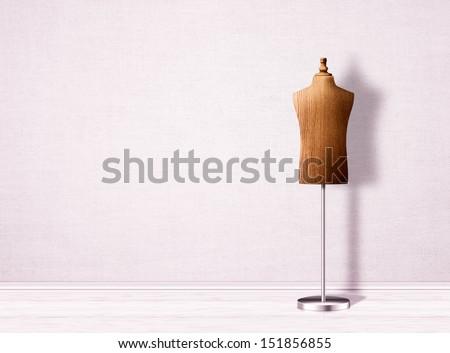 Empty Mannequin Torso Template Stock Illustration 151856855 ...