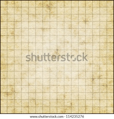 Empty Map Template On Old Paper Stock Illustration 114332443 ...