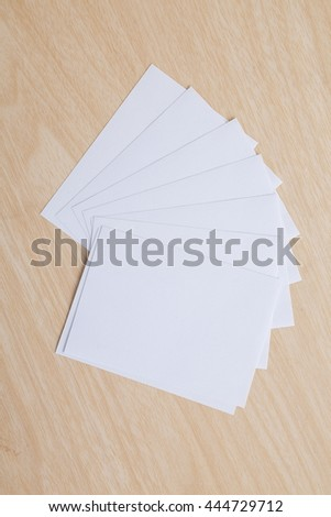 empty note paper - stock photo