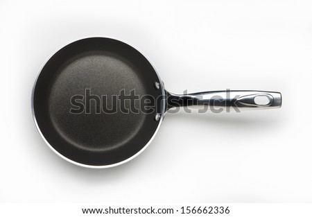 empty pan - stock photo