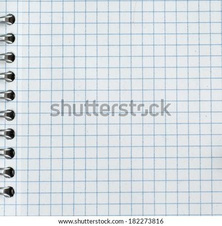 Empty paper sheet - stock photo