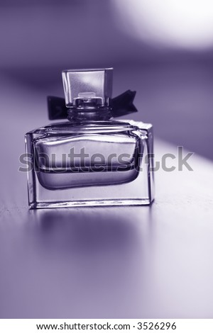 empty perfume bottle,with beautiful romantic toning,concept of romance, memories