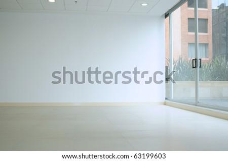 Empty room. - stock photo