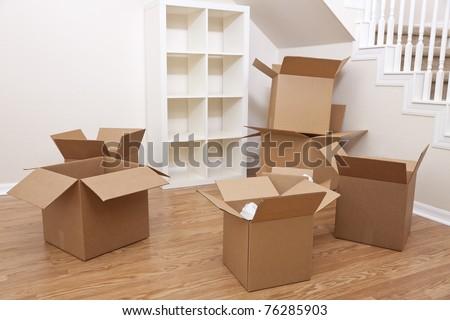 Большие картонные коробки для переезда