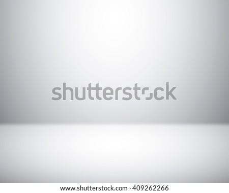 Empty room studio gray background for photography indoor - stock photo