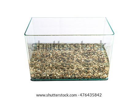 Empty water tank (aquarium)