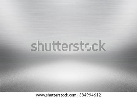 Empty White Space - stock photo