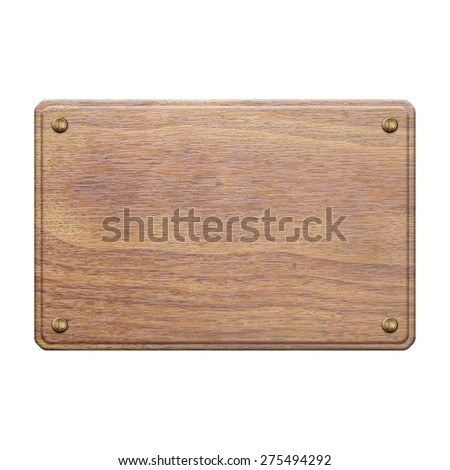 wooden sign board blank frame on stock photo 151130111