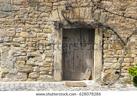 Enchanted door in a castle wall. & Enchanted Door Stock Images Royalty-Free Images \u0026 Vectors ... Pezcame.Com