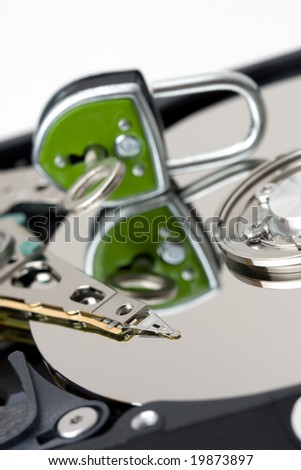 Encryption (Data security) - stock photo