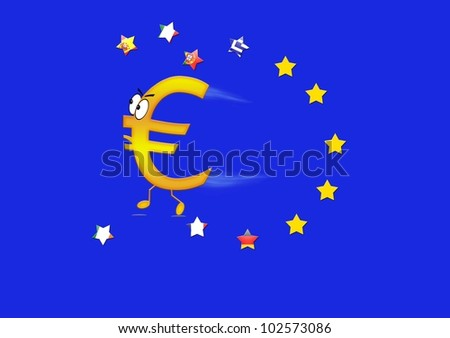 End of Europe. - stock photo