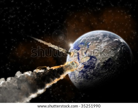 End of the time - Meteor attack on Planet Earth