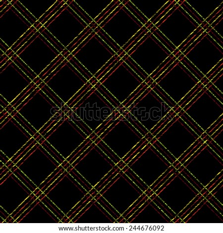 Endless pattern with Plaid Fabric. Simple checkered template. Brush strokes. Pattern fills. Abstract backdrop. Grungy tartan. Plain checkered background for decoration or backdrop. - stock photo