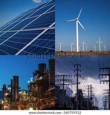 Energy Concept Images - stock photo