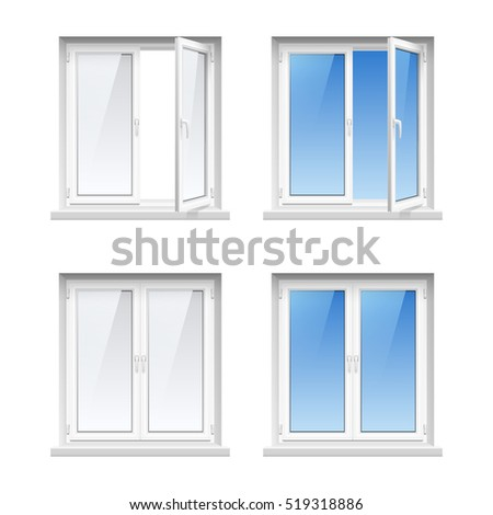 Pvc window stock images royalty free images vectors for Acrylic windows cost