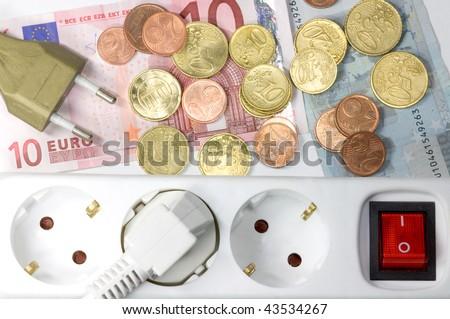 energy costs... - stock photo