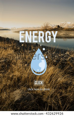 Energy Environment Ecology Sustainable Concept - stock photo
