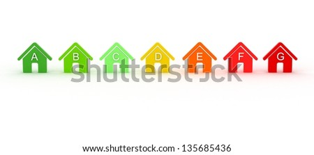 Energy Home - stock photo