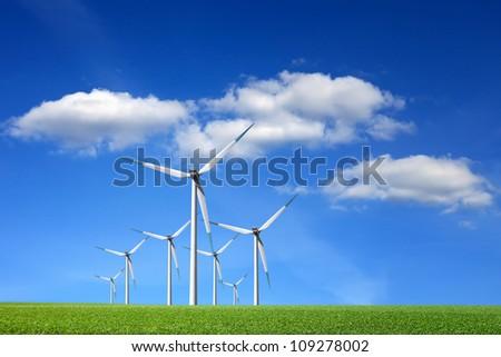 Energy power - stock photo