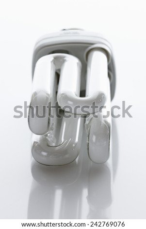 Energy saving lightbulb - stock photo