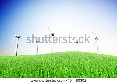 Energy saving windmills