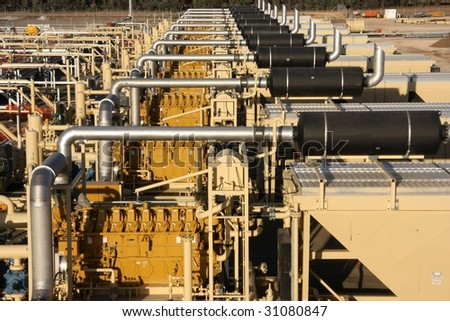Energy sector  Natural gas compression