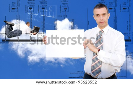 Engineering designing - stock photo