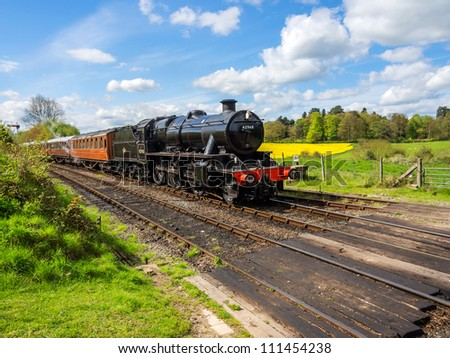 england worcestershire severn valley preserved steam railway arley station