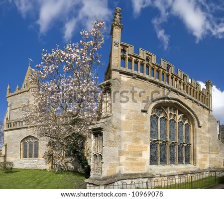 england worcestershire the historic market town of evesham Churches of All Saints and St Lawrence and Abbot Lichfield s 16th Century Bell tower