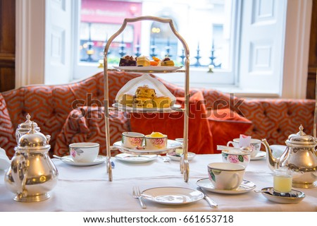 the living room afternoon tea afternoon tea desserts beautiful breakfast の写真素材 18618