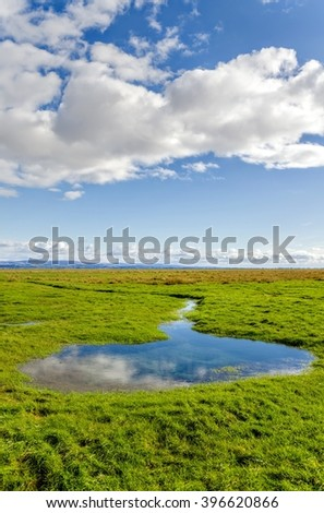 English countryside, Grange-over-sands, Cumbria, England  - stock photo